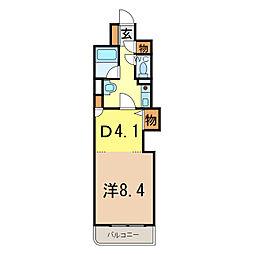 朝日プラザ旭川5条通[7階]の間取り