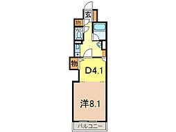 朝日プラザ旭川5条通[11階]の間取り