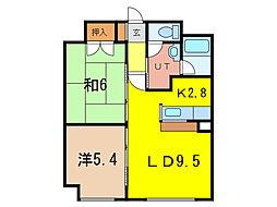 朝日プラザ旭川5条通[8階]の間取り
