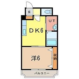ノルテ1条通[5階]の間取り