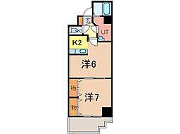 ノルテ6条弐番館[10階]の間取り