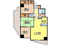 ノルテ6条弐番館[3階]の間取り