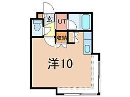 コットンハウス11[1階]の間取り