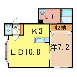 Celes[1階]の間取り