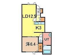 CONCORDE B[1階]の間取り