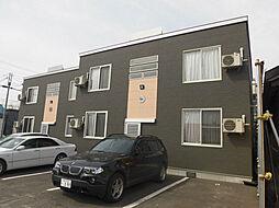 北海道旭川市東一条2丁目の賃貸アパートの外観