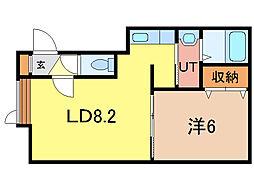 アルエ[2階]の間取り