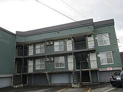 北海道旭川市東三条8丁目の賃貸アパートの外観