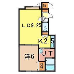 スピーナA[2階]の間取り