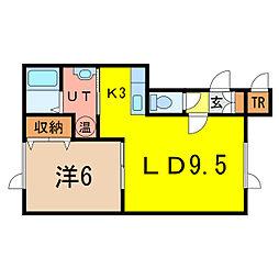 西神楽駅 5.2万円