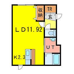 RENII[1階]の間取り