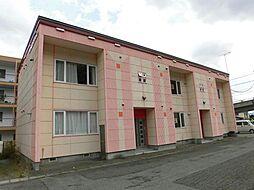 北海道旭川市神居八条10の賃貸アパートの外観