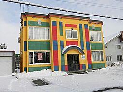 北海道旭川市末広一条13丁目の賃貸アパートの外観