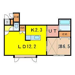 デュエットIB[2階]の間取り