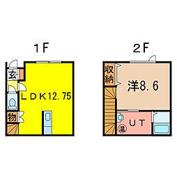 神楽5−4新築AP[1階]の間取り