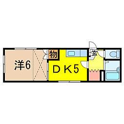 大雪旭川館TOYOOKA[1階]の間取り