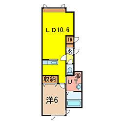 Sora[2階]の間取り
