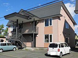 北海道旭川市末広二条9丁目の賃貸アパートの外観