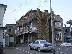 北海道旭川市神居四条4丁目の賃貸アパートの外観