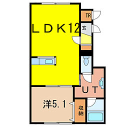 神楽岡10-3新築[2階]の間取り
