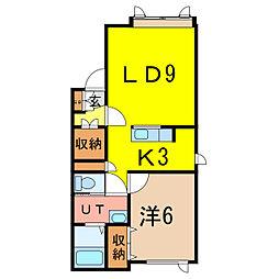 diarlifeT・3[1階]の間取り