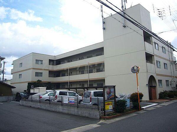 滋賀県大津市本丸町の賃貸マンションの外観