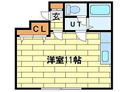 恵比寿第3ハイツ[2階]の間取り