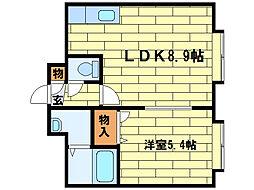 ティアラ澄川第II[2階]の間取り
