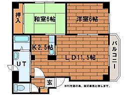 さくらハイツ(平岸6-17)[3階]の間取り