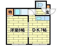 リラハイツ(澄川1-3)[4階]の間取り