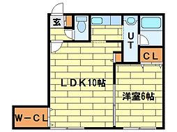 K・stage[4階]の間取り