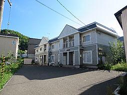 [テラスハウス] 北海道札幌市南区南沢二条3丁目 の賃貸【/】の外観