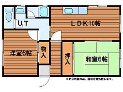 中野ハウス[3階]の間取り