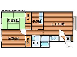 ファミール65[2階]の間取り