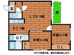 La Vita SUMIKAWA[1階]の間取り