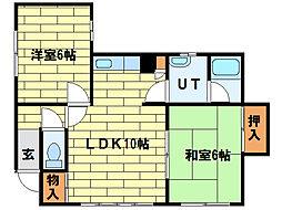 [一戸建] 北海道札幌市南区南三十二条西8丁目 の賃貸【/】の間取り