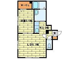 グランメール澄川[4階]の間取り