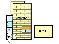 MMハイムIII[2階]の間取り