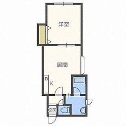 エレガントスペース[3階]の間取り