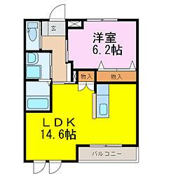 コンフィード[2階]の間取り