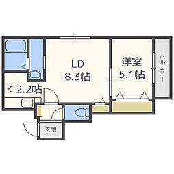 LIGHTNING・BLD[4階]の間取り