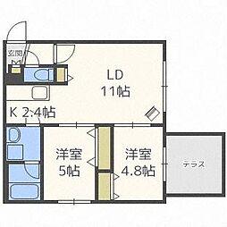 SR177[1階]の間取り