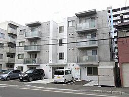 北海道札幌市中央区南二十一条西8丁目の賃貸マンションの外観