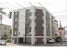 北海道札幌市中央区南十七条西6丁目の賃貸マンションの外観