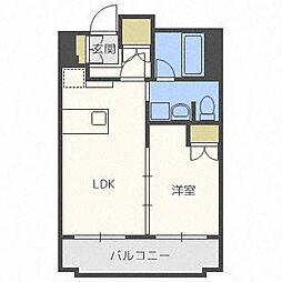 ラフィネタワー札幌南3条[9階]の間取り