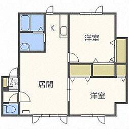 セジュールME 2号館[2階]の間取り