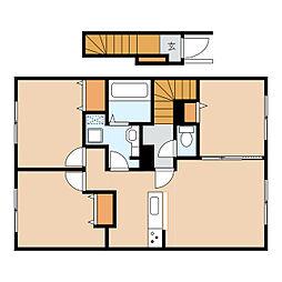 仮)美園5条3丁目新築AP 1号地[2階]の間取り