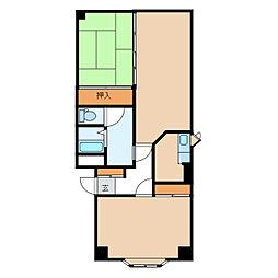 モンシャトー7[1階]の間取り