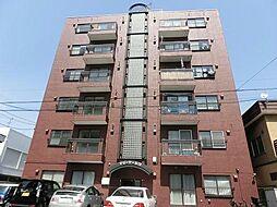 北海道札幌市中央区南十三条西10丁目の賃貸マンションの外観