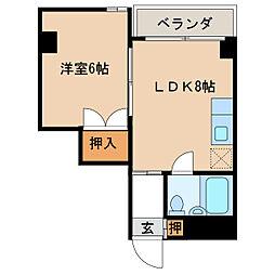 島屋ビル[3階]の間取り